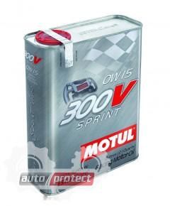Фото 1 - Motul 300V Sprint моторное масло 0W15