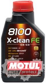 Фото 2 - Motul 8100 X-clean FE синтетическое моторное масло 5W-30