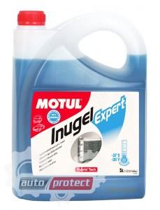 Фото 2 - Motul Inugel Expert -37C Антифриз готовый синий