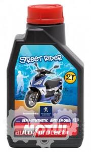 Фото 1 - Motul Peugeot Street Rider 2T Полусинтетическое масло 2Т двигателей для скутеров