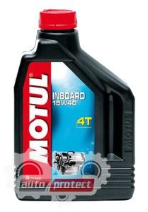 Фото 1 - Motul Inboard Tech 4T 15W-50 Моторное масло для 4Т двигателей