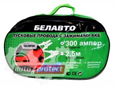 Фото 1 - Белавто БП30 Провода прикуривания, 300А 2.5м сумка
