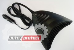 Фото 3 - CarCommerce Cyclon Тепло-вентилятор, 12V, 150Вт, от прикуривателя, на двусторонней липучке