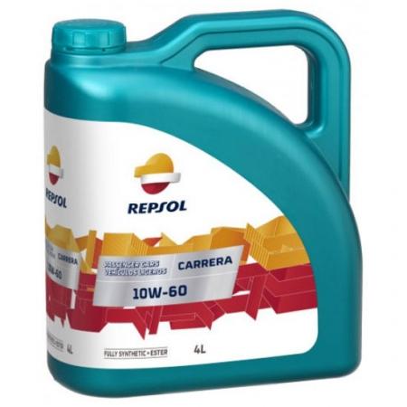 Фото 1 - Repsol Carrera 10W-60 Синтетическое моторное масло