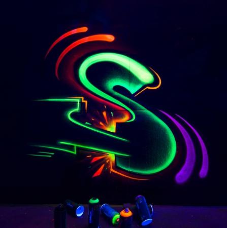Фото 4 - Montana Black Infra Аэрозольная краска для граффити, флуоресцентная