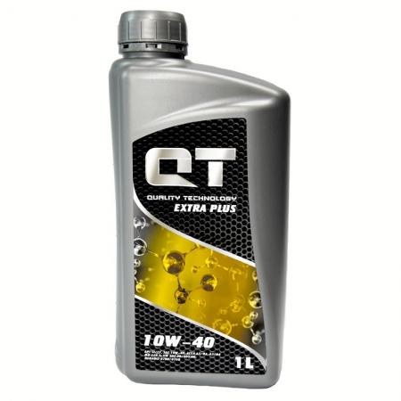 Фото 1 - QT-oil Extra Plus 10W-40 Полусинтетическое моторное масло