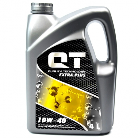 Фото 2 - QT-oil Extra Plus 10W-40 Полусинтетическое моторное масло