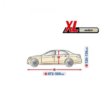 Фото 4 - Kegel-Blazusiak 5-4323-241-2092 Optimal Garage XL Sedan Чехол-тент автомобильный на седан, XL