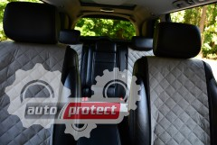 Фото 1 - Аvторитет Накидки на передние и задние сиденья, серые