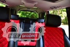 Фото 8 - Аvторитет Накидка на переднее сиденье, красная, 2шт
