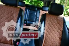 Фото 5 - Аvторитет Накидка на переднее сиденье, коричневая, 2шт