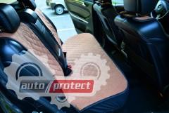 Фото 7 - Аvторитет Накидки на передние и задние сиденья, коричневые
