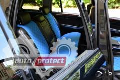 Фото 5 - Аvторитет Накидки на передние и задние сиденья, синие