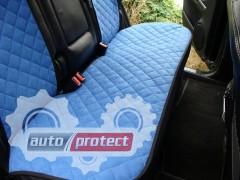 Фото 8 - Аvторитет Накидки на передние и задние сиденья, синие