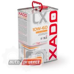 Фото 1 - XADO Luxury Drive 10W-60 Синтетическое моторное масло Luxury Drive 10W-60 SYNTHETIC Гоночное синтетическое моторное ма