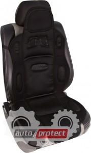 Фото 1 - Vitol F 19002 BK Накидка на сиденье черная, 1шт