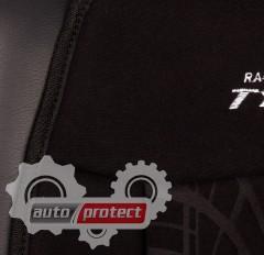 Фото 3 - Vitol FD102080 BK Накидка на сиденье велюр черная, 1шт