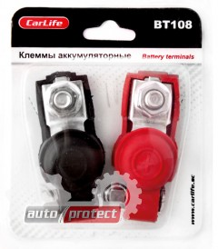 Фото 1 - Carlife BT 108 Клеммы аккумуляторные