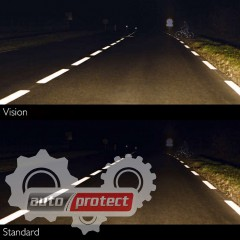 Фото 5 - Philips Vision H3 12V 55W Автолампа галоген, 1шт 6
