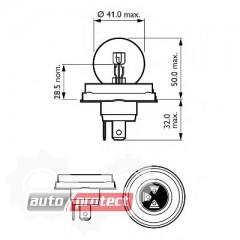 ���� 3 - Philips Standard R2 12V 45/40W ��������� �������, 1�� 3