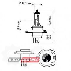 ���� 2 - Philips CityVision Moto H4 12V 60/55W ��������� �������, 1�� 2
