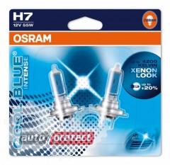 Фото 3 - Osram Cool Blue Intense H7 12V 55W автолампа галоген, 1шт