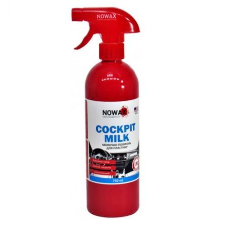 Фото 1 - Nowax Cockpit Milk Молочко-полироль для пластика