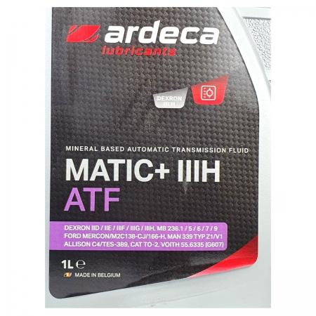 Фото 2 - Ardeca Matic+ III H ATF Минеральное трансмиссионное масло