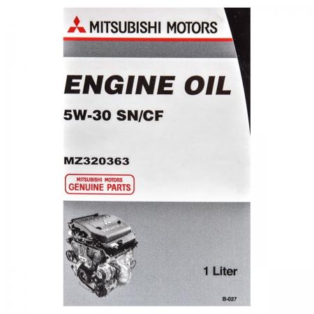 Фото 2 - Mitsubishi 5W-30 Оригинальное моторное масло