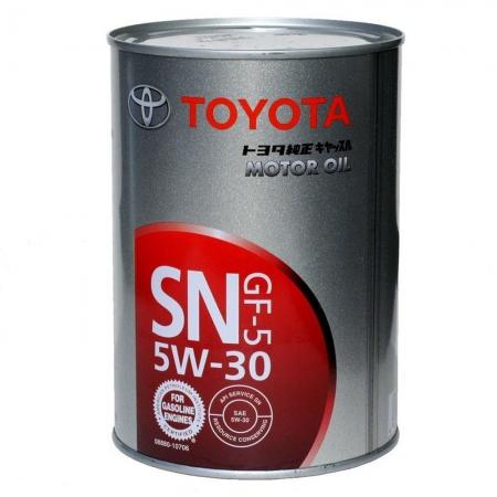 Фото 1 - Toyota SN/GF-5 5W-30 (Japan) Оригинальное моторное масло