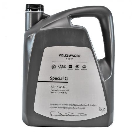 Фото 3 - VW AUDI Special G 5W-40 Оригинальное моторное масло