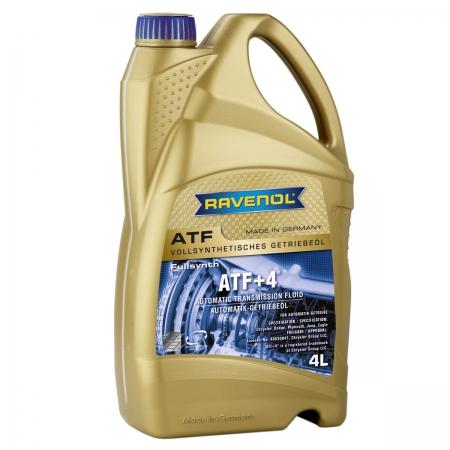 Фото 2 - Ravenol ATF+4 Fluid Синтетическое трансмиссионное масло