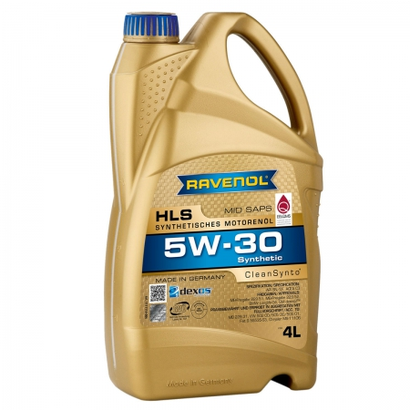 Фото 2 - Ravenol HLS 5W-30 Синтетическое моторное масло
