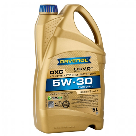Фото 3 - Ravenol DXG 5W-30 Синтетическое моторное масло