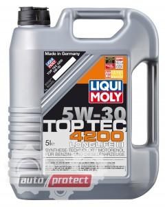 Фото 1 - Liqui Moly Top Tec 4200 5W-30 Моторное масло (3708, 3715, 7660, 7661)