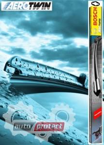 Фото 1 - Bosch AeroTwin Щетки стеклоочистителя бескаркасные 530 и 475 мм (комплект) A307S