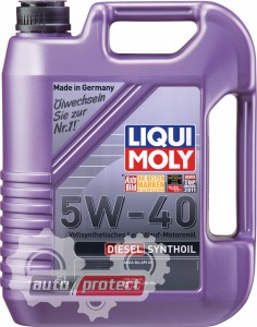 Фото 2 - Liqui Moly Diesel Synthoil 5W-40 Моторное масло
