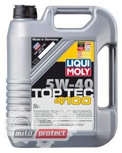 Фото 1 - Liqui Moly Top Tec 4100 5W-40 Синтетическое моторное масло (3702, 7500, 7501, 7547)