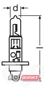 ���� 3 - Osram Original Line H1 24V 70W ��������� �������, 1��