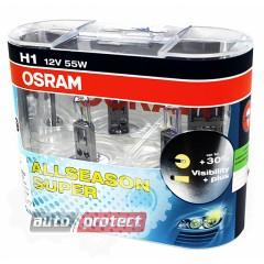 Фото 2 - Osram All Season 64150 H1 12V 55W Автолампа галогенная, 2шт