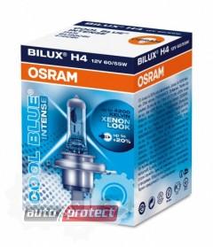 Фото 2 - Osram Cool Blue Intense H4 12V 60/55W Автолампа галогенная, 1шт