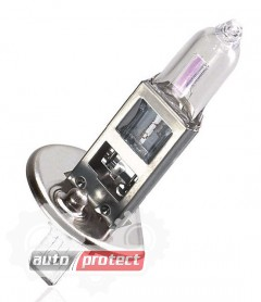 Фото 1 - Philips NightGuide DoubleLife H1 12V 55W Автолампа галогенная, 2шт 1