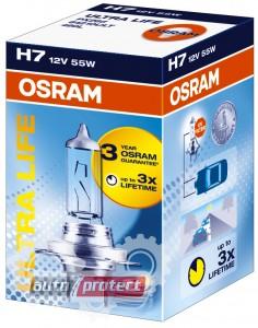 Фото 1 - Osram Ultra Life 64210 H7 12V 55W Автолампа галогенная, 1шт