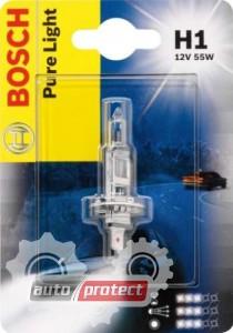 Фото 1 - Bosch Pure Light H1 12V 55W Автолампа галогеновая, 1шт