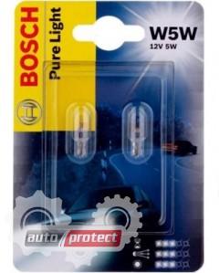 Фото 1 - Bosch Xenon Blue W5W 12V 5W Автолампа галогенная, 2шт
