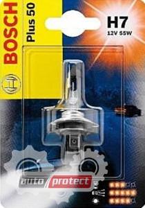 ���� 1 - Bosch Plus 50 H7 12V 55W ��������� �����������, 1��