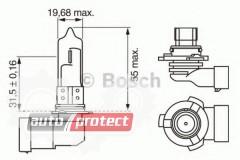 Фото 2 - Bosch Pure Light HB3 12V 60W Автолампа галогеновая, 1шт