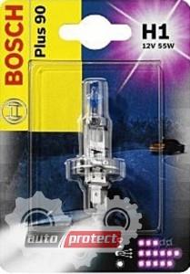 Фото 1 - Bosch Plus 90 H1 12V 55W Автолампа галогенная, 1шт