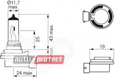 Фото 2 - Bosch Pure Light H8 12V 35W Автолампа галогеновая, 1шт
