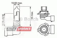 Фото 2 - Bosch Pure Light HB4 12V 51W Автолампа галогеновая, 1шт